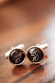 I really like these cuff-links, having something small but personalised like this would be important for me. Garden Wedding, Dream Wedding, Vintage Groom, Groom Cufflinks, Groom Accessories, Groom Looks, Wedding Inspiration, Wedding Ideas, Groom And Groomsmen