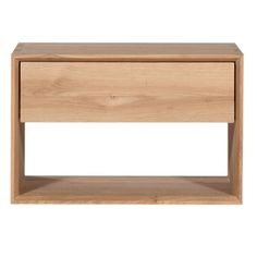 Ethnicraft Oak Nordic 1 Drawer Bedside Table | Clickon Furniture | Designer Modern Classic Furniture