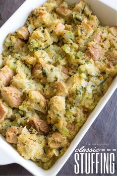 Classic Stuffing - Healthy #Vegan Dinner / Lunch Recipes - #plantbased #cleaneating — The Local Vegan™ | Official Website