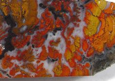Wingate Pass Plume Agate Fantastic Slab Death Valley Jewelry Rock WP102032