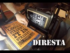 Watch the Revival of a Turn-Of-The-Century Letterpress