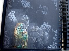 Lindy's Shimmering Embossed Resist Technique Embossing Powder, Favorite Color, Stamp, Projects, Log Projects, Blue Prints, Stamps