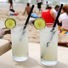 Carabeno Ingredients  1/4 oz lime juice 1/4 oz simple syrup ( Rich, 2 parts sugar, 1 part water) 4 ozs coconut water ( ) 2 ozs white rum ( Puerto Rican)