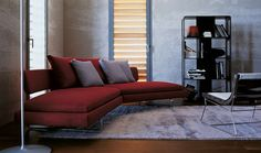 Sofa: ARNE - Collection: B&B Italia - Design: Antonio Citterio