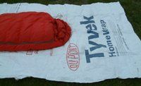 Campcovers 5 X 9 Foot Tyvek Ground Sheet/tent Footprint/tent Fly with 4 Adhesive Grommet Tabs ** This is an Amazon Affiliate link. See this great product.
