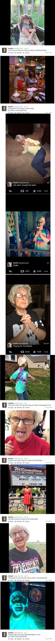 Let's be this grandma