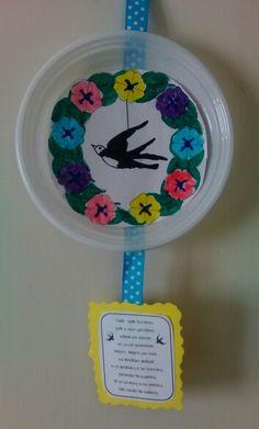 Χελιδονισματα Spring Crafts, Kindergarten, Kindergartens, Preschool, Preschools, Pre K, Kindergarten Center Management, Day Care