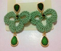Brincos verdes