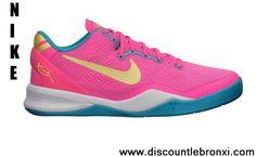 Buy Nike Kobe 8 GS Dynamic Pink Basketball Shoes Shop