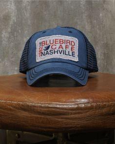 ba2581987c33f Bluebird Vintage Patch Trucker Hat Vintage Trucker Hats