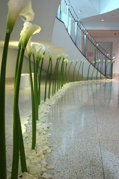 calla lily aisle by Mandy Majerik