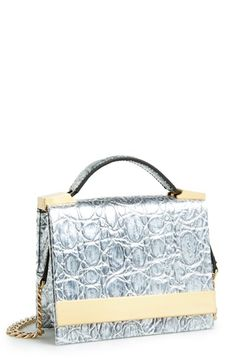 1aabcd2d4642 B Brian Atwood  Ava  Metallic Leather Top Handle Convertible Clutch  available at  Nordstrom