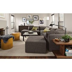 LIving Room Furniture For The Modern Home, Our Harding Sectional Sofas Are  Contemporary Sectionals With Chaises For Use As Living Room Sectional  Furniture.