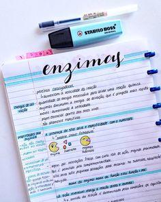 Enzimas #study #studyblr ##studygram #studying #notes #handlettering #handwriting
