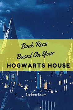 Find a great book or two to read, based on your Hogwarts House.