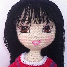 Custom order: a gift for a friend #crochet #crochetdoll