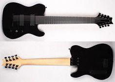 Halo Guitars 8 string tele!