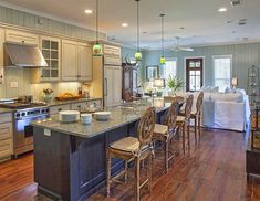 """When we came home from our trip to the 30A area of Florida, I was more obsessed than ever with seeing the inside of those beautiful homes! """"Spartina by the Sea"""", a vacation rental in Wa…"""