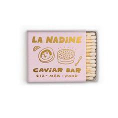 La Nadine Matchstick Packaging Box