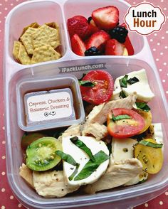 Turning cold side dishes into a healthy lunchbox for work in @EasyLunchboxes. #healthylunch