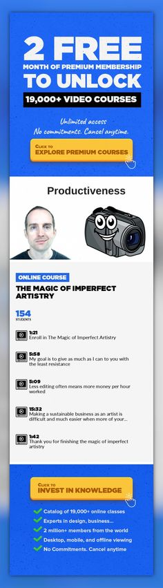 The Magic of Imperfect Artistry Entrepreneurship, Art, Lifestyle, Video Editing, Productivity, Creativity, Other #onlinecourses #onlineprogramsbusiness #onlinecoursesorganization   Enroll in this class to see the huge benefits I receive by being an imperfect artist online that honestly tries to share my creative work out into the world as it is!  You might enjoy the graphs I made in Microsoft Pow...