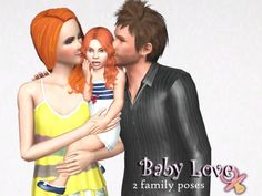 Baby Love 2 family poses by spladoum - Sims 3 Downloads CC Caboodle