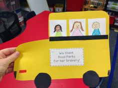 Rosa Parks Bus Craft Color Me Kinder: Martin Luther King Jr. was a Man of Peace + Freebies 1600 x 1063 · 169 kB · jpeg Rosa Parks Preschool Crafts Rosa park craft Rosa Parks Bus, February Black History Month, Bus Crafts, Black History Month Activities, History Classroom, History Projects, Art Projects, Thing 1, Preschool Activities