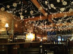restaurant christmas decorations google search