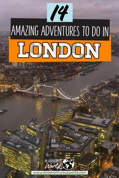 Looking for the ultimate London adventures? From white water rafting to axe throwing, these are the best adventurous things to do in London! These are some of the best London tours and activities really get to know the city. #London #LondonAdventures #LondonActivities #LondonTours #LondonGuide #ThingsToDoInLondon #England #VisitEngland #UK London Tours, London Travel, Europe Travel Tips, Places To Travel, Top Attractions In London, Adventurous Things To Do, Travel Inspiration, Travel Ideas, Things To Do In London