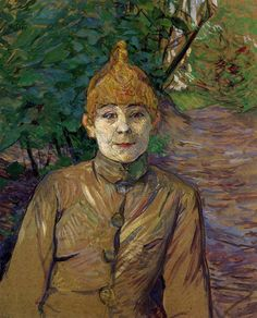 Henri de Toulouse-Lautrec The Streetwalker (Also Known As Casque D Or) 1890-1891