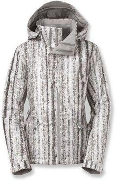 1ee23a7e21e5 The North Face Women s Lulea Insulated Jacket Tnf White Birch Print XL