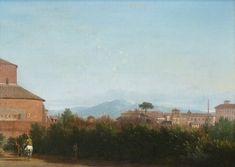 """""""Paysage romain"""" de Frédérick de Moucheron"""