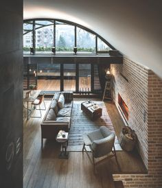 home decor style vintage bedroom design Home city rustic architecture Interior Living Room house bathroom interiors loft decor studio kitchen living lifestyle modern apartment industrial contemporary brick ECLECTIC urban industrial Loft Category