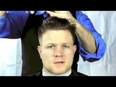 How to Cut a Short Men's Pompadour Haircut or Tight Tapered Haircut - YouTube