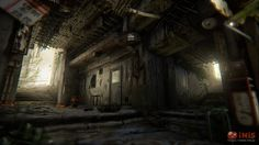 Polycount Forum - View Single Post - What Are You Working On? Drawing Interior, Zombie Art, Game Environment, Post Apocalypse, Environmental Art, You Working, 3d Rendering, Game Art, Sick