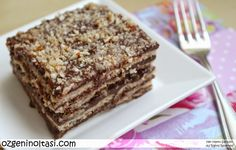 bisküvili pasta, pudingli bisküvi pastası, petibör pasta, pudingli petibör pastası, çikolatalı bisküvi pastası