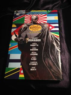 Batman Incorporated DC Hardcover Graphic Novel Grant Morrison
