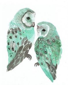 painted owls♥ on We Heart It - http://weheartit.com/entry/49942545/via/marie_w_isaacs
