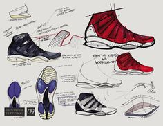 Sketches de Calzado /  Personal Ideation by Brett Golliff at Coroflot.com