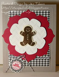 Gingerbread Christmas card