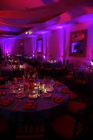Iluminación RGB para banquetes,