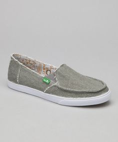 6441fb7d6b10 Take a look at this Gray June Bug Slip-On Shoe - Women by Sanuk