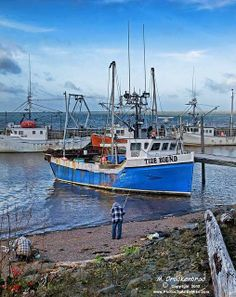 Advocate Harbour, Bay of Fundy, Nova Scotia
