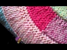 10 Stitch Spiral - Knitting in rounds  Video Knitting Tutorial