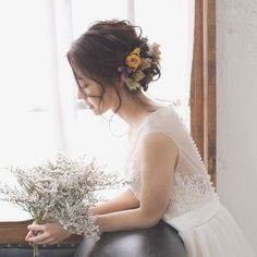 Amazing Wedding Makeup Tips – Makeup Design Ideas Best Wedding Hairstyles, Party Hairstyles, Bride Hairstyles, Wedding Makeup Tips, Bridal Makeup, Bridal Hair, Curly Prom Hair, Hairdo Wedding, Hair Arrange