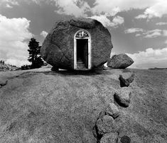 Jerry Uelsmann (P.S. His work is not digitally altered - all done in the darkroom.)