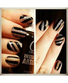 Gliteratti Party: 15 of the best sparkly mani's from the interwebs - dropdeadgorgeousdaily.com