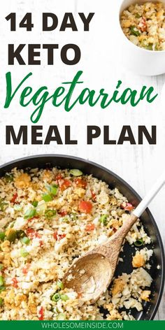 14 day keto diet plan for beginners. These vegetarian meal plans include Recipes for breaskfast , lunch ideas and dinner Recipes. The low carb and keto friendly recipes will help you stay in ketosis and keep losing weight Keto Meal Plan, Diet Meal Plans, Meal Prep, Beginner Vegetarian, Vegetarian Keto, Keto Diet For Vegetarians, Vegan Keto Recipes, Healthy Recipes, Food Dinners