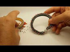 mini tutorial,,come realizzare il braccialetto super 11 con la chiusura,,💚💚💚 - YouTube Bellisima, Beading, Beaded Bracelets, Tutorials, Jewellery, Mini, Youtube, Wristlets, Hipster Stuff