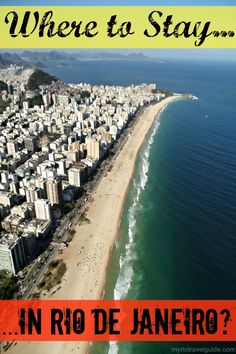 Places to stay in Rio de Janeiro, Brazil
